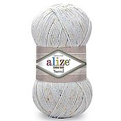 Пряжа ручной работы. Ярмарка Мастеров - ручная работа Пряжа Cotton gold tweed Alize (хлопок с акрилом). Handmade.