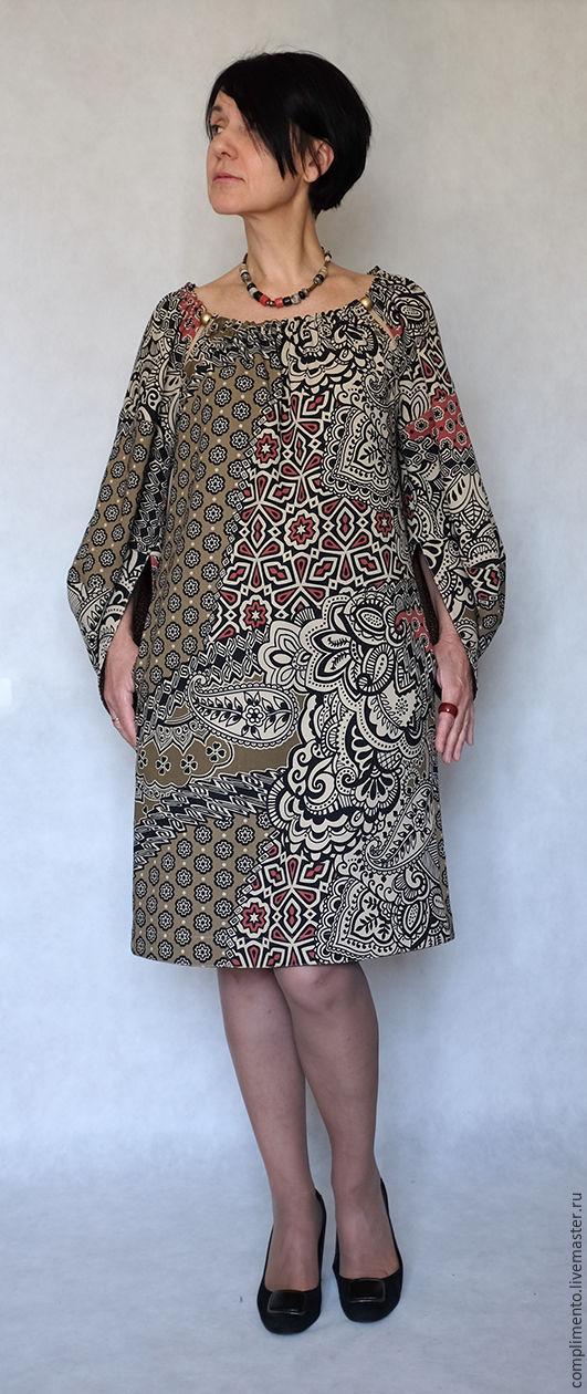 Платье прямого силуэта своими руками фото 119