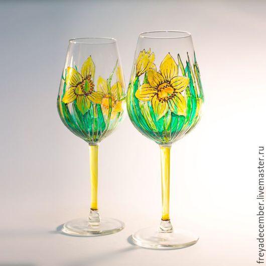 Бокалы для белого вина `Нарциссы`.
