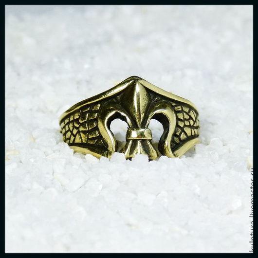 """Кольца ручной работы. Ярмарка Мастеров - ручная работа. Купить Кольцо """"Королевская лилия"""". Handmade. Кольцо, авторское украшение"""