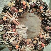 Цветы и флористика handmade. Livemaster - original item A wreath in Eco-style. Handmade.