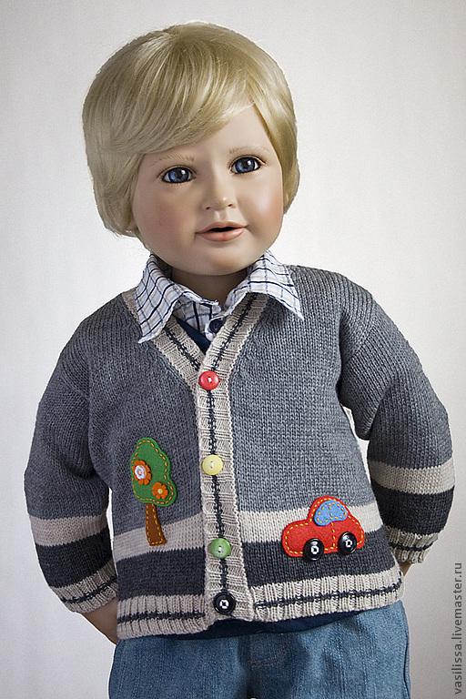 Одежда для мальчиков, ручной работы. Ярмарка Мастеров - ручная работа. Купить Жакет детский Тачки. Handmade. Жакет детский
