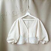 Одежда handmade. Livemaster - original item Felted cardigan. Handmade.
