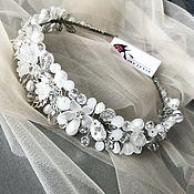 Свадебный салон handmade. Livemaster - original item Bridal tiara. Wedding hair band