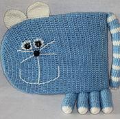 Куклы и игрушки ручной работы. Ярмарка Мастеров - ручная работа подушка-кот. Handmade.