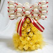 """Букеты ручной работы. Ярмарка Мастеров - ручная работа Букеты из конфет """"Колокольчик"""". Handmade."""
