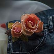 Свадебный салон ручной работы. Ярмарка Мастеров - ручная работа Роза Весенняя. Handmade.