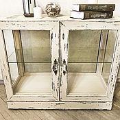 """Комоды ручной работы. Ярмарка Мастеров - ручная работа Комод, витрина из массива дерева """"Винтаж"""". Handmade."""