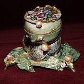 """Для дома и интерьера handmade. Livemaster - original item The """"Summer"""" box.. Handmade."""
