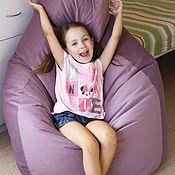 Для дома и интерьера ручной работы. Ярмарка Мастеров - ручная работа Кресло - груша, биг бен, кресло - мешок, напольный пуф, бескаркасная. Handmade.