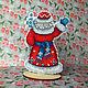Decor: Santa Claus. Ded Moroz and Snegurochka. FavoriteStitch. My Livemaster. Фото №4