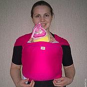 Одежда ручной работы. Ярмарка Мастеров - ручная работа Трикотажный слинг шарф. Handmade.