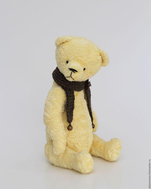 Мишки Тедди ручной работы. Ярмарка Мастеров - ручная работа. Купить Мишка тедди Зефир - мягкая игрушка. Handmade. Лимонный