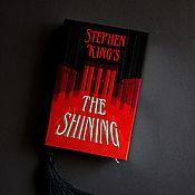 Сумки и аксессуары handmade. Livemaster - original item The Shining Clutch Book by Stephen King. Handmade.
