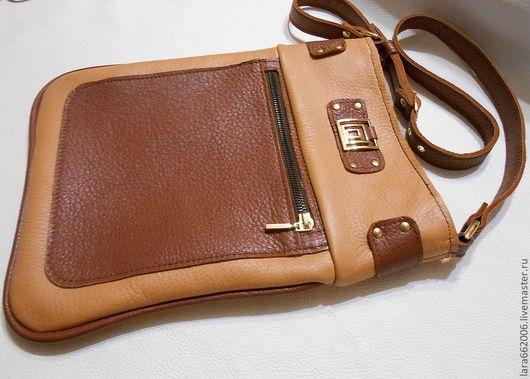 женская кожаная сумка планшет, сумка-планшет из кожи, кожаная сумка на плечо, кожа флоттер,  сумка из итальянской натуральной кожи,  сумка для прогулок. кожаная сумка