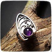 Rings handmade. Livemaster - original item Ring with amethyst