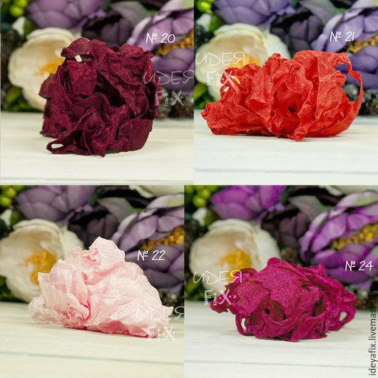 Цвета: №20 - винный,  №21 - красный,  №22 - розовый,  №24 - малиновый