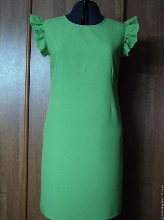 Платья ручной работы. Ярмарка Мастеров - ручная работа. Купить Платье. Handmade. Салатовый, платье, летнее платье, весна