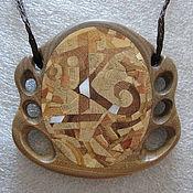Украшения ручной работы. Ярмарка Мастеров - ручная работа Кулон из дерева. Handmade.