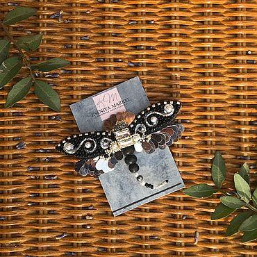Украшения ручной работы. Ярмарка Мастеров - ручная работа Брошь «Стрекоза». Handmade.
