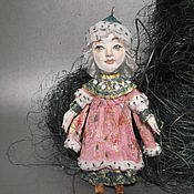 """Куклы и игрушки ручной работы. Ярмарка Мастеров - ручная работа """"Сказка о царе Салтане"""" царица, в девичестве третья сестрица. продано. Handmade."""