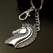 Аксессуары handmade. Livemaster - original item Key ring Horse Head key chain for handbag. Handmade.