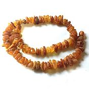 Работы для детей, handmade. Livemaster - original item 40 cm small Amber beads