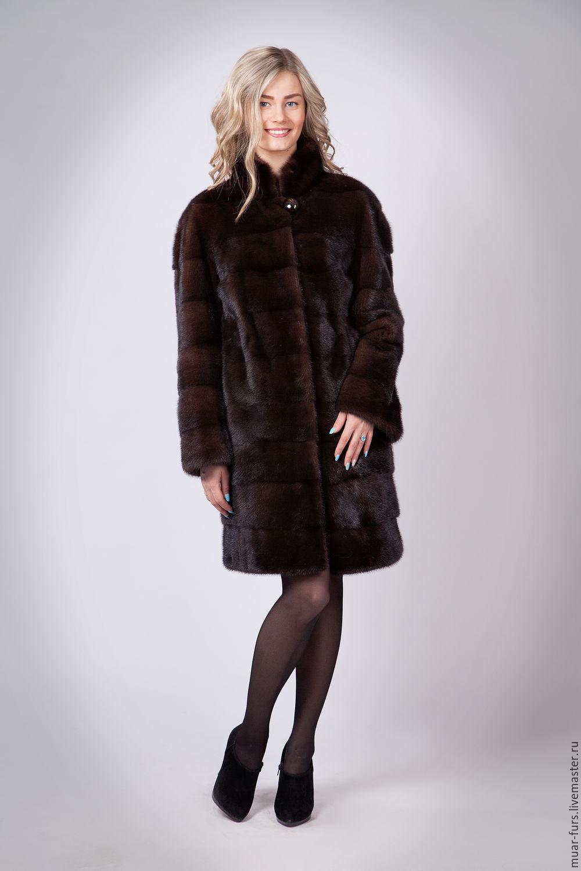 Mink coat Mahogany, Fur Coats, Kirov,  Фото №1