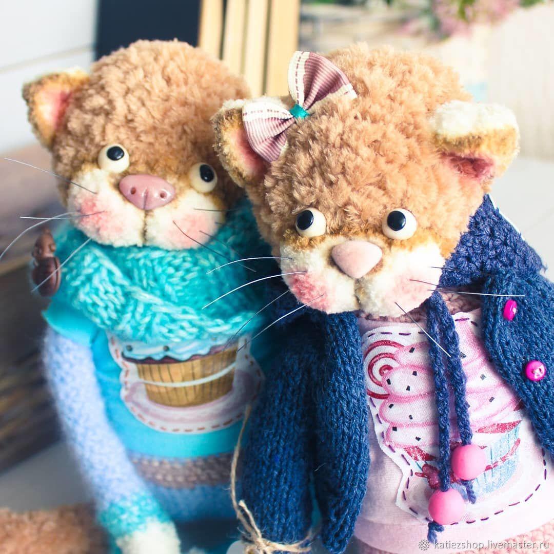 Котейки, Мягкие игрушки, Благовещенск,  Фото №1