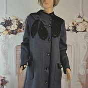 Одежда handmade. Livemaster - original item Knitted coat,48-52r, ,56-58r. Handmade.