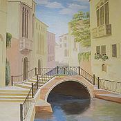 """Дизайн и реклама ручной работы. Ярмарка Мастеров - ручная работа """"Венецианская улочка"""". Handmade."""