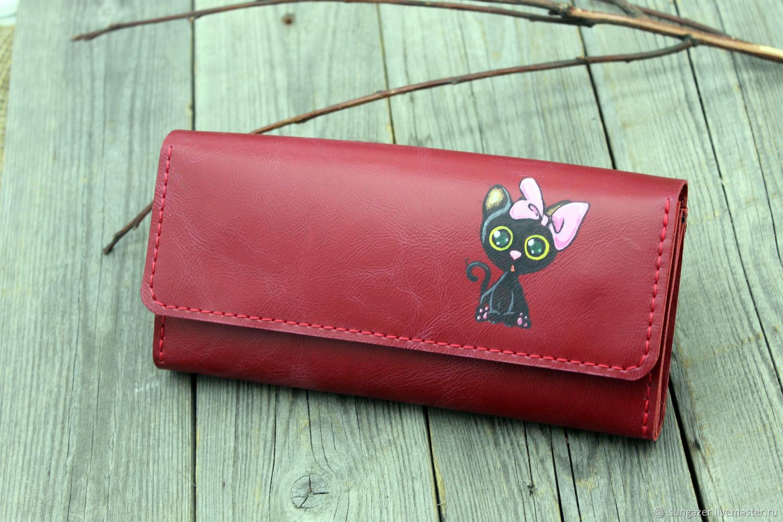 Women's Leather Wallet Koteyka, Wallets, Murmansk,  Фото №1