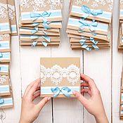 Свадебный салон ручной работы. Ярмарка Мастеров - ручная работа Свадебные приглашения (несколько видов). Handmade.