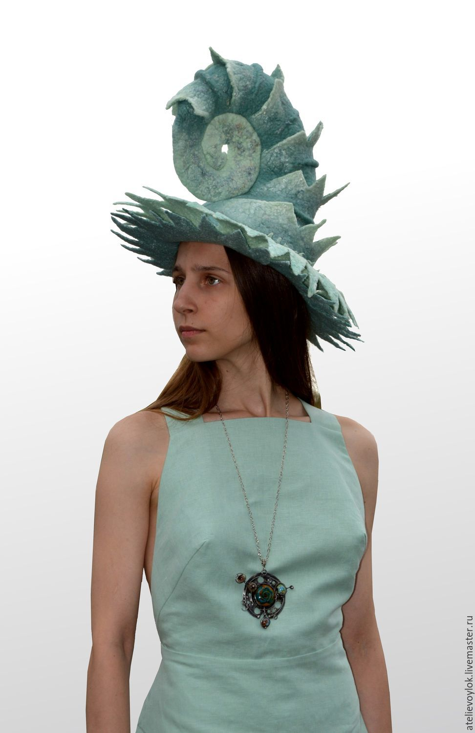 Hat 'The Planet Neptune', Subculture hats, Rostov-on-Don,  Фото №1