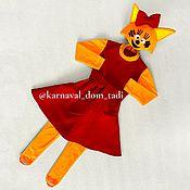 Одежда детская handmade. Livemaster - original item Kitty costume for girls Christmas. Handmade.