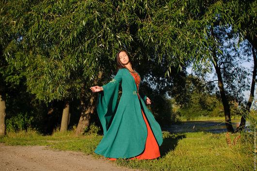Карнавальные костюмы ручной работы. Ярмарка Мастеров - ручная работа. Купить Ветер в ивах. Handmade. Зеленый, маскарадный костюм