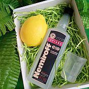 Подарки к праздникам ручной работы. Ярмарка Мастеров - ручная работа Подарок мужчине парню мужу другу коллеге набор мыла водка с лимоном. Handmade.