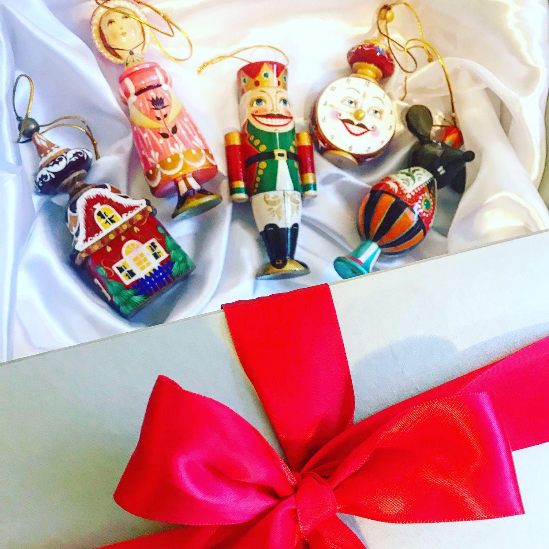 Елочная деревянная игрушка по  сказке Щелкунчик и Мышиный король, Елочные игрушки, Москва,  Фото №1