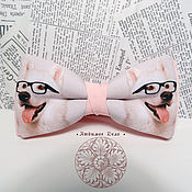Аксессуары handmade. Livemaster - original item bow tie dog/ butterfly with dogs/sheep-dog/ pet. Handmade.