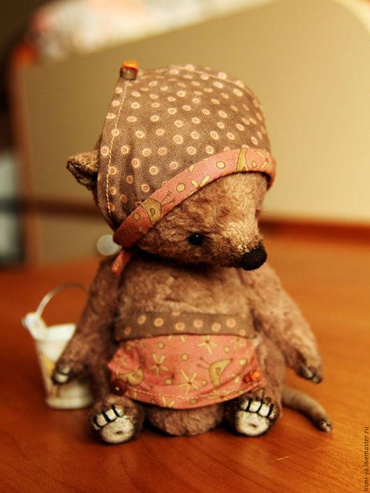 Мишки Тедди ручной работы. Ярмарка Мастеров - ручная работа. Купить Мышка Эмми. Handmade. Бежевый, хлопок 100%