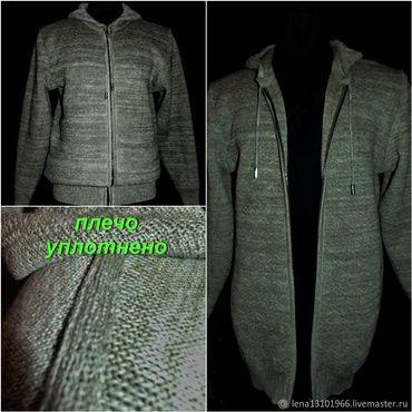 Clothing handmade. Livemaster - original item 80%linen 20% wool or cotton to choose from .Windbreaker