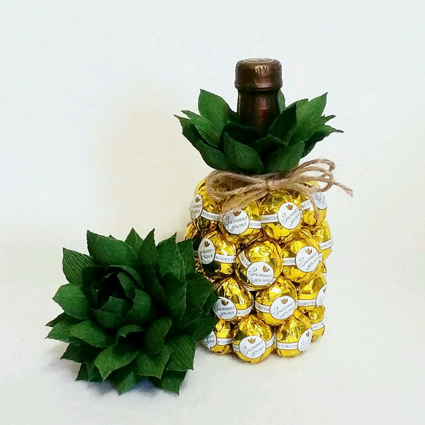 Букет из конфет ананас заказать приятный подарок любимому мужчине