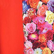 Материалы для творчества ручной работы. Ярмарка Мастеров - ручная работа Кулирка с лайкрой Миллион Роз. Handmade.