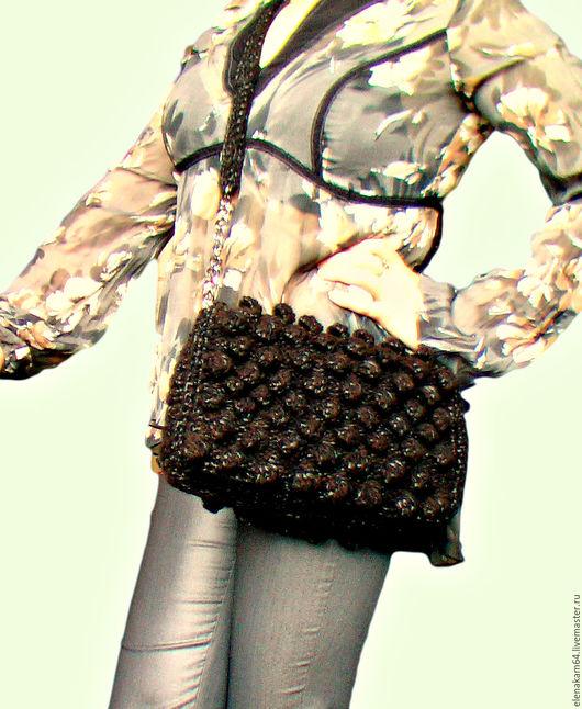 Женские сумки ручной работы. Ярмарка Мастеров - ручная работа. Купить сумка вязаная. Handmade. Сумка женская, необычная сумка