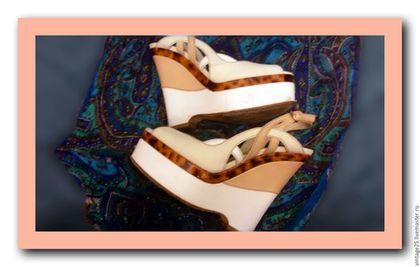 Винтажная обувь. Винтажные босоножки ГУЧЧИ ОРИГИНАЛ. Чердак старого дома (vintage25). Ярмарка Мастеров. Босоножкт оригинал, натуральная кожа