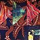 """Текстиль, ковры ручной работы. """"Ясные звезды""""  лоскутный плед. Лоскутное одеяло Quiltlada. Ярмарка Мастеров. Счастье, листья, акция"""