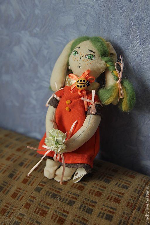 Детская ручной работы. Ярмарка Мастеров - ручная работа. Купить Чердачная куколка. Handmade. Тильда, кукла ручной работы