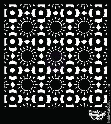 Открытки и скрапбукинг ручной работы. Ярмарка Мастеров - ручная работа. Купить Маска для штампинга  Кружево 9. Handmade. Маска