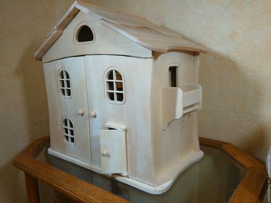 Кукольный дом ручной работы. Ярмарка Мастеров - ручная работа. Купить Большой кукольный двухэтажный домик. Handmade. Кукольный дом