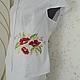 Блузки ручной работы. вышитая шелком блузка. валентина (ketmir). Интернет-магазин Ярмарка Мастеров. Однотонный